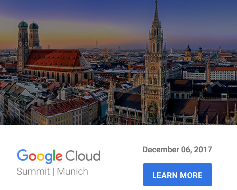 Google Cloud Summit Munich