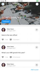 iOS Community Posts