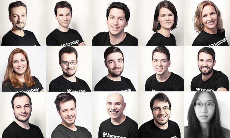 LumApps Team sur le salon RSE