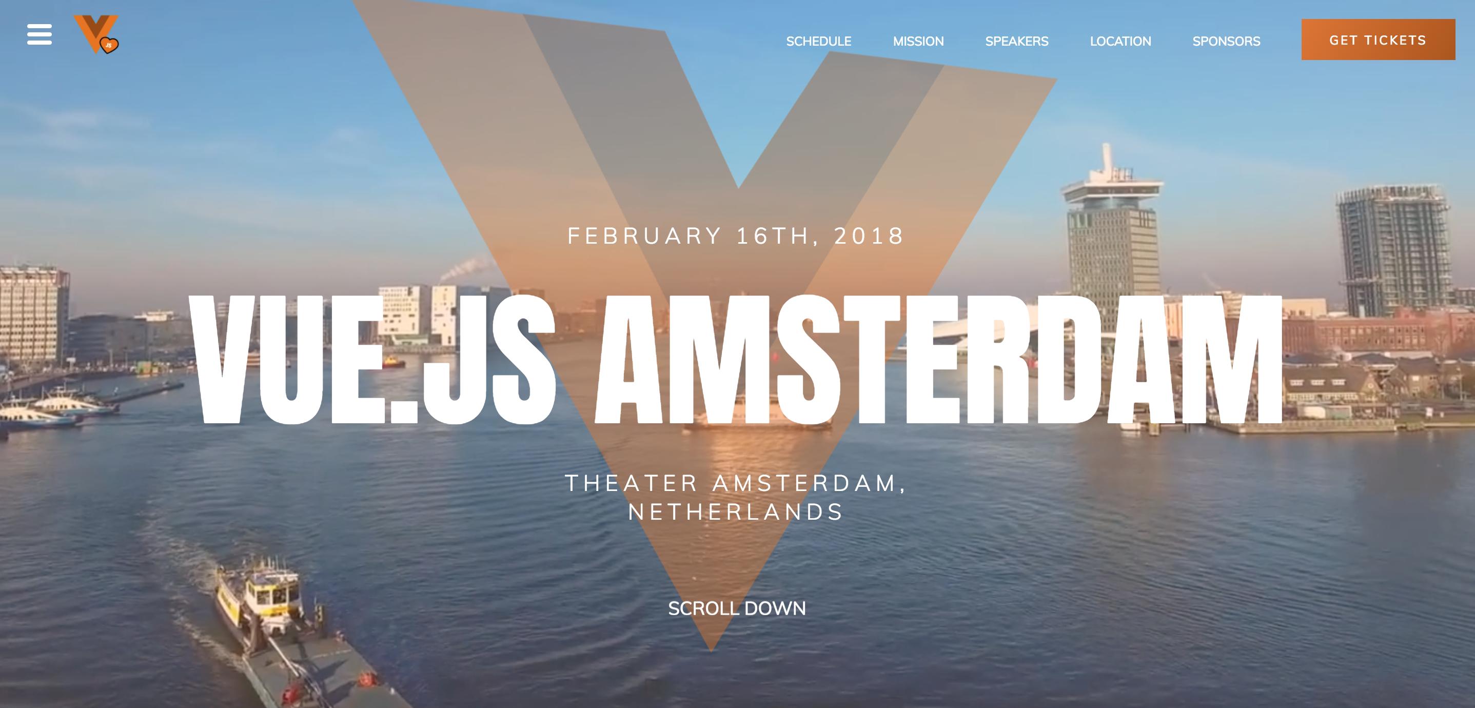 Vuejs Amsterdam