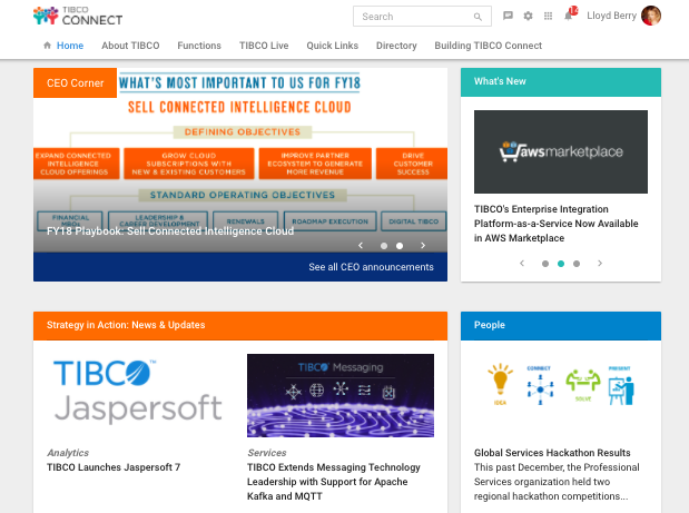 TIBCO Intranet
