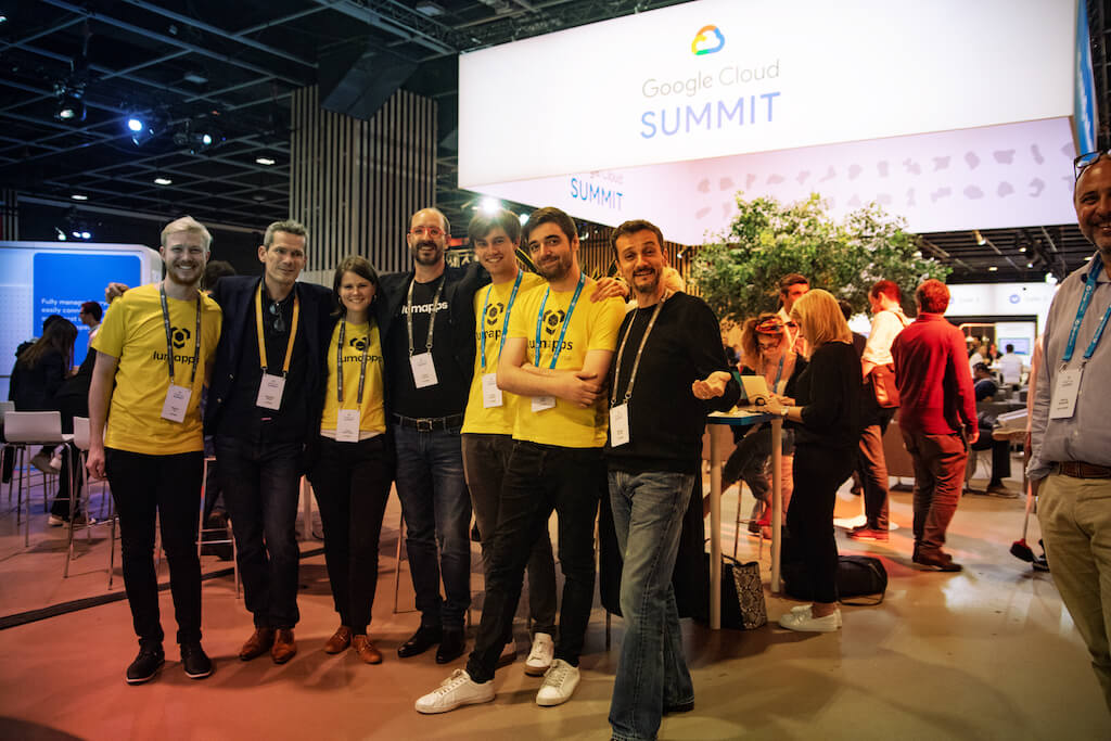 LumApps Team at Google Cloud Summit Paris