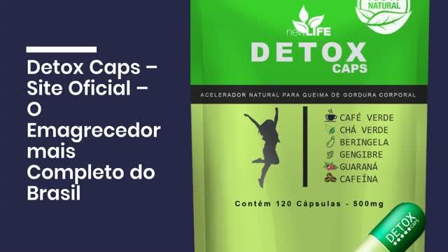 detox caps bula