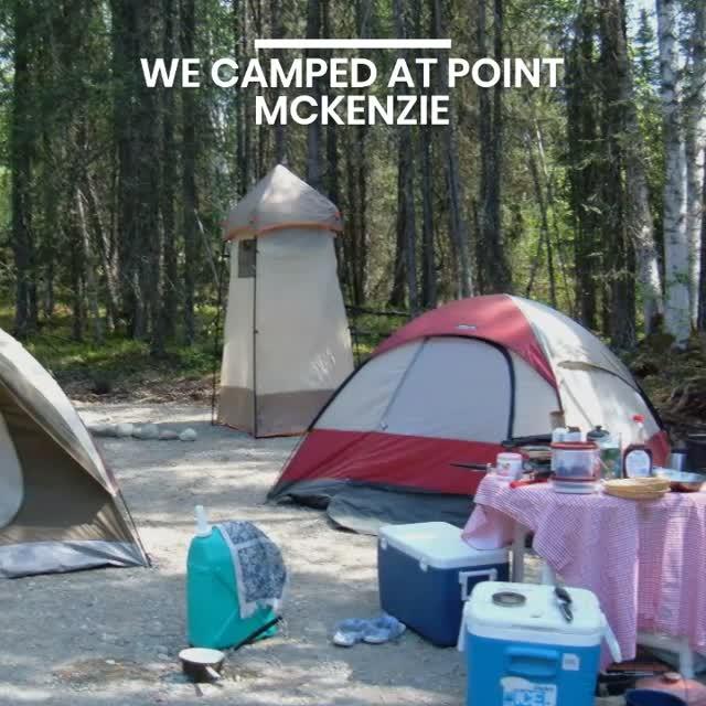 WE WERE LOST AT POINT MCKENZIE