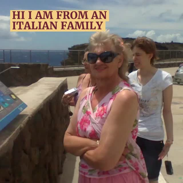 THE ITALIAN IN ME