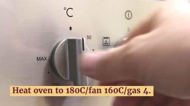 Heat oven to 180C/fan 160C/gas 4.