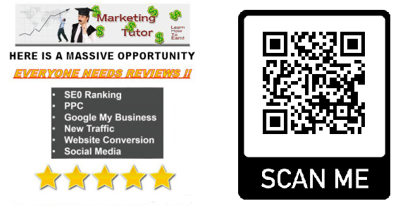 The Marketing-tutor QR code Generator