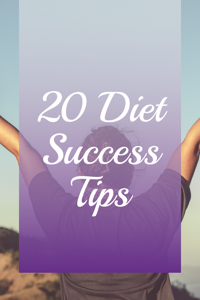 20 Diet Success Tips Pinterest