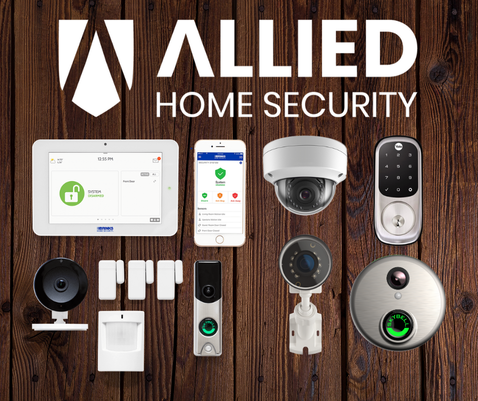Allied Home Security Smart Home Security Package