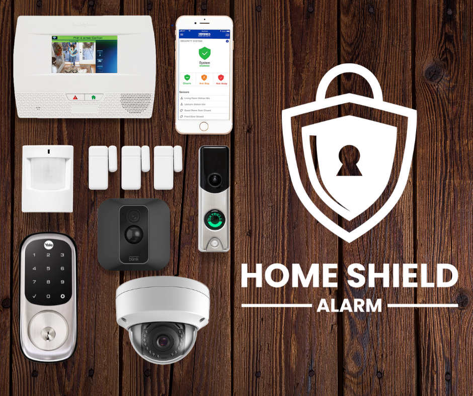 Home Shield Alarm Smart Home Security Package