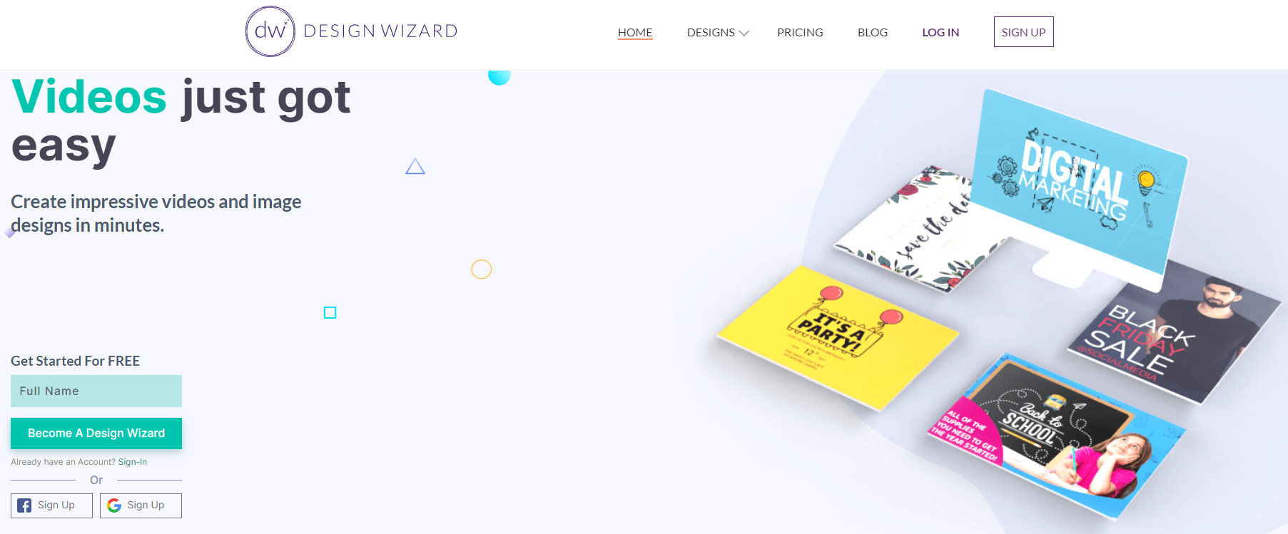 Design Wizard blackfriday 2020