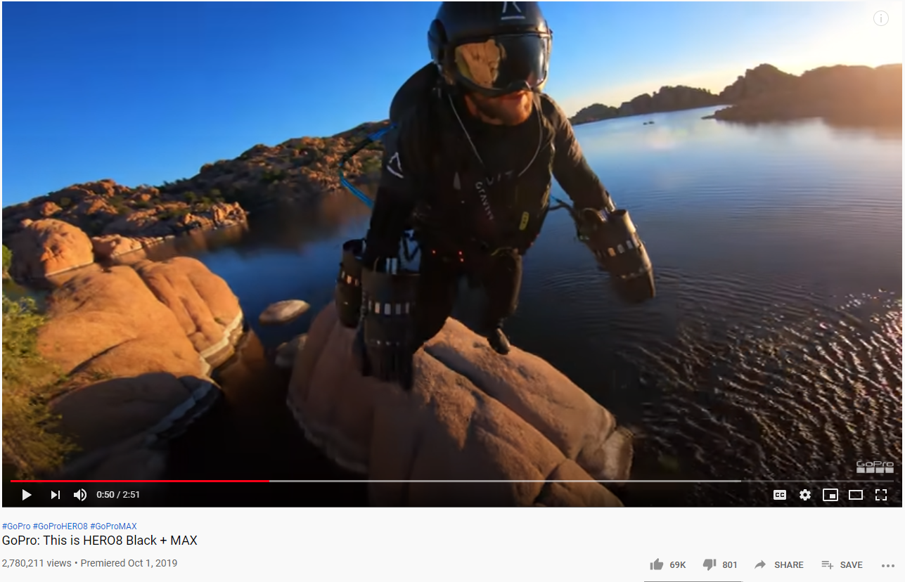 Go pro video screenshot