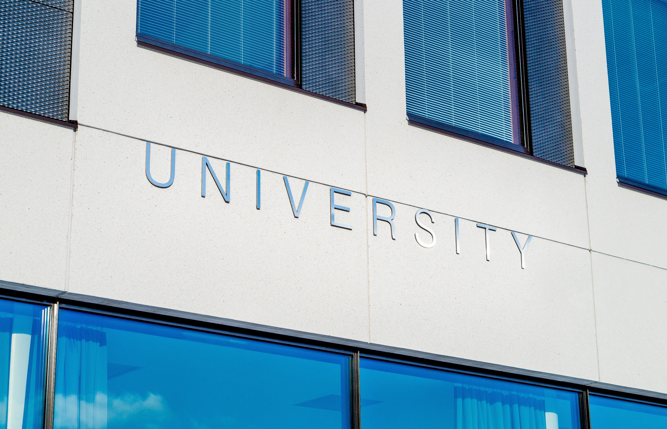 Photo by Pixabay; University sign; College is a life-changing event that can affect your taxes.