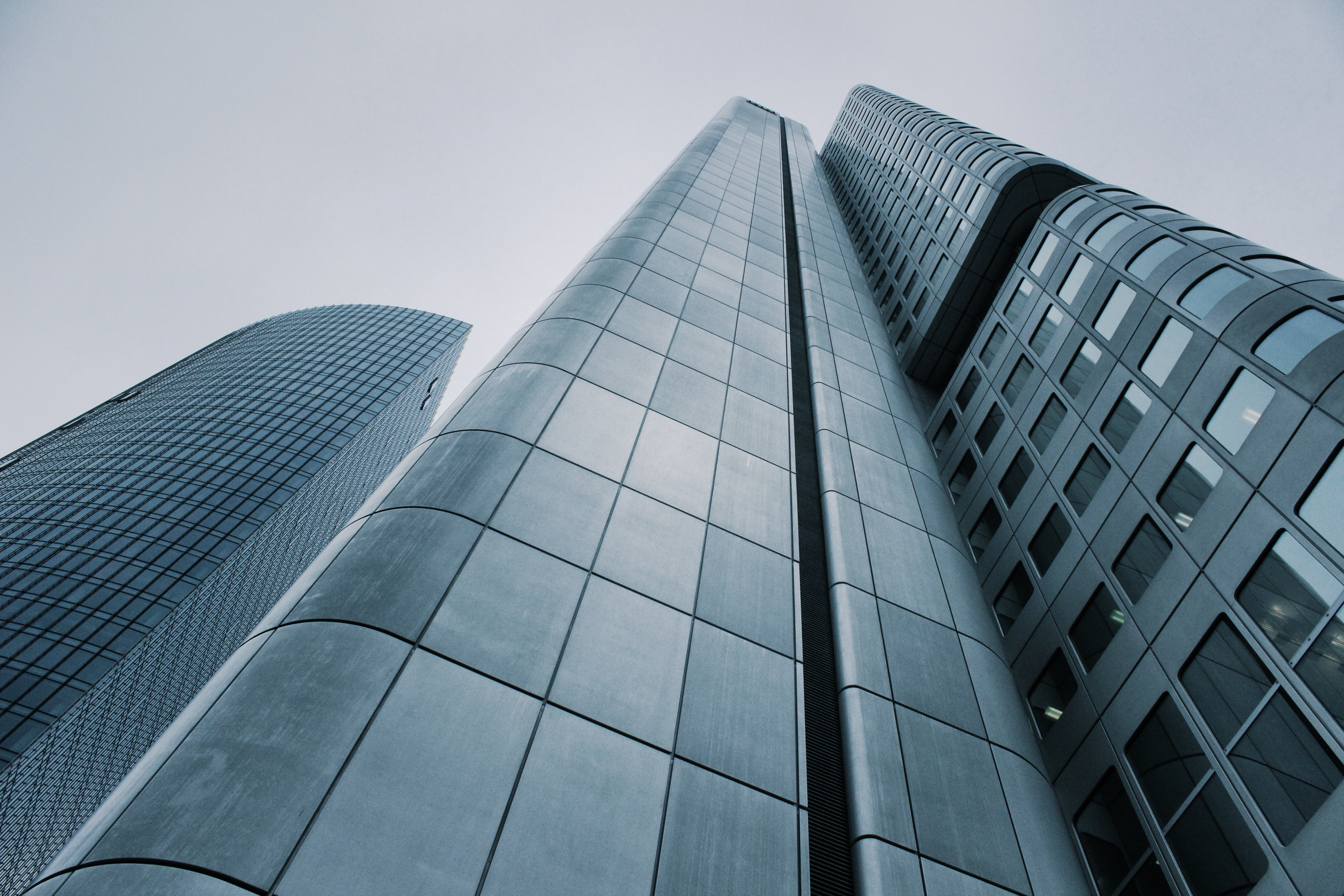 Photo of skyscrapers by Pixabay; C corporation vs S corporation