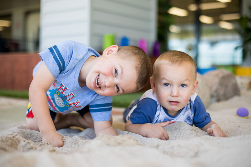 Inviting older siblings to help with younger children can avoid sibling resentment.