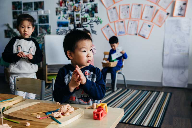 Children come first in child care when they are provided with choices and invitations to play.