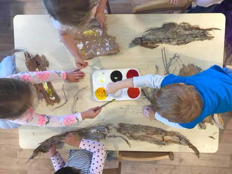 Children engage in NAIDOC Week activities.