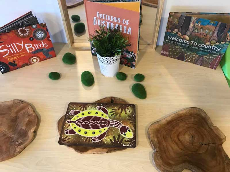 Reading books by Aboriginal and Torres Strait Islander authors is a NAIDOC Week activity for children.