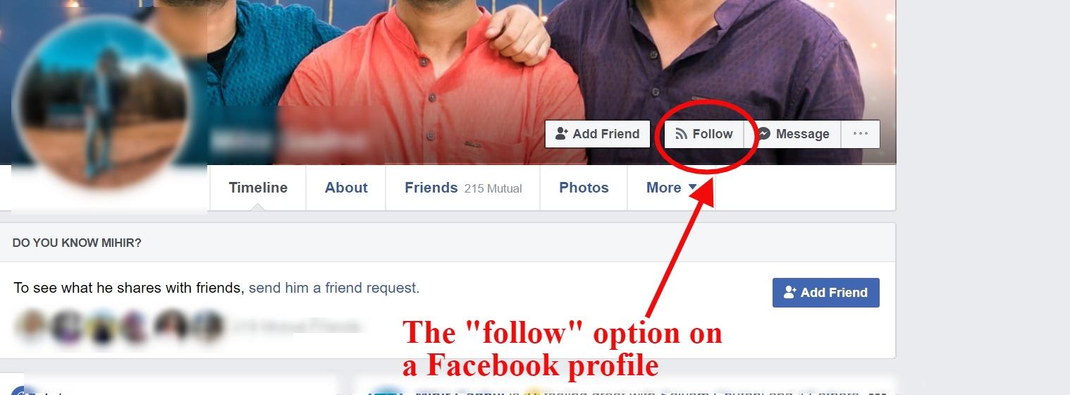 follow option fb