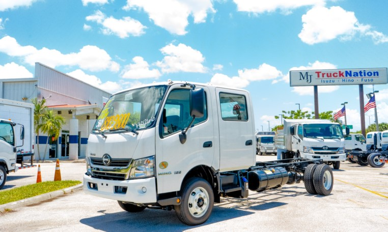 Introducing the New 2020 Hino 155 DC Cab and Chassis 1