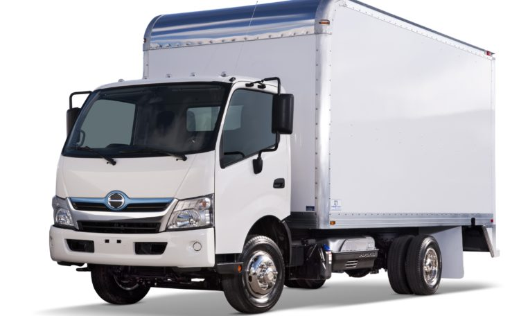 2020 HINO 155 New BOX TRUCK with Liftgate 9