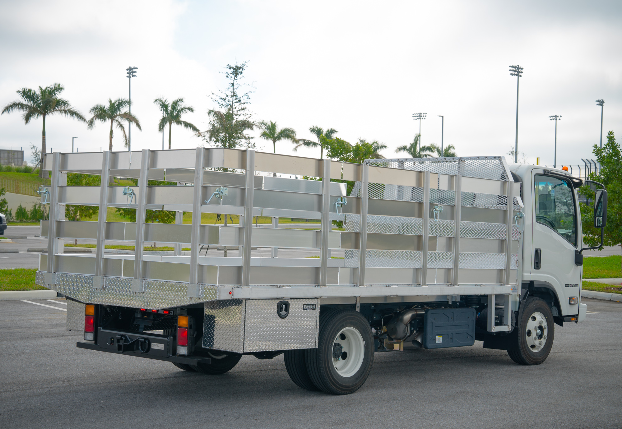 Stake Flatbed Truck Solutions 1
