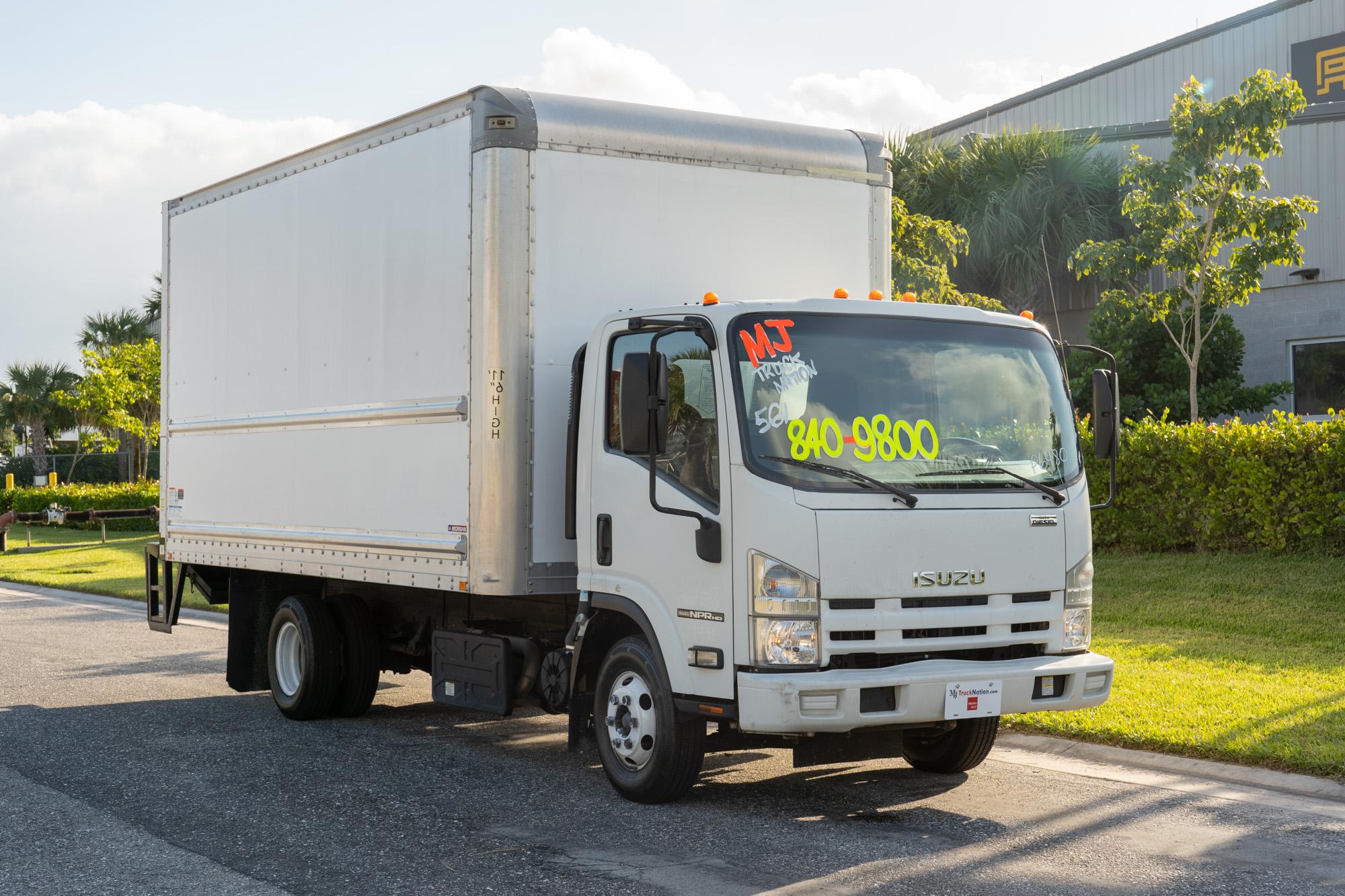 2015 Isuzu NPR-HD Box Truck with Palfinger Lift Gate 10