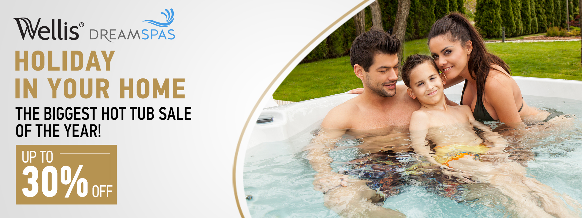 Dreamspas hot tub offer