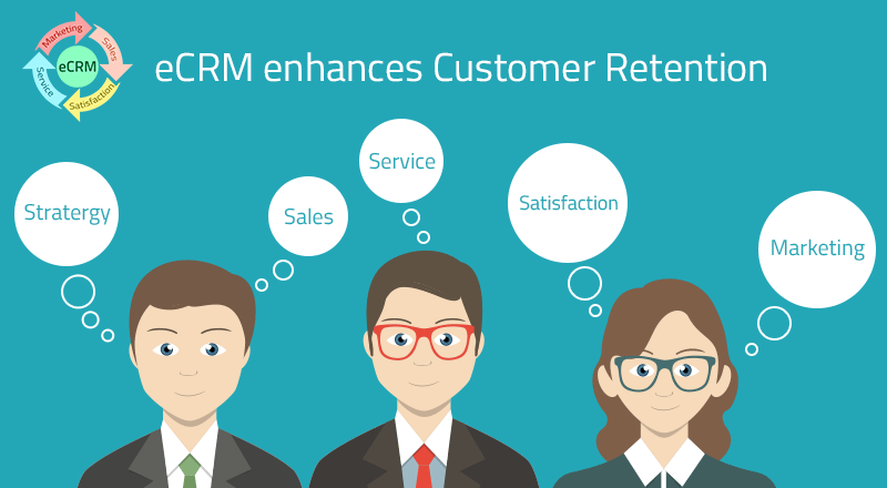 Giữ chân khách hàng với xu hướng e-CRM (Ảnh: partoo.co)