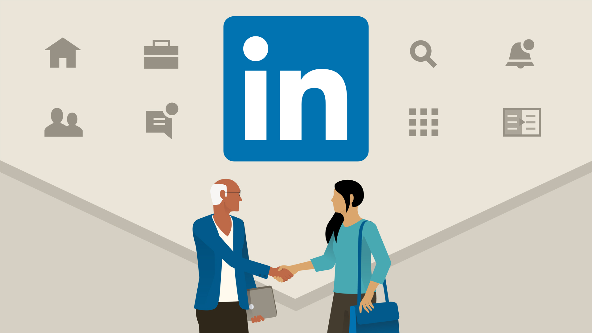 Ứng dụng LinkedIn trong hoạt động marketing (cre: Lynda.com)