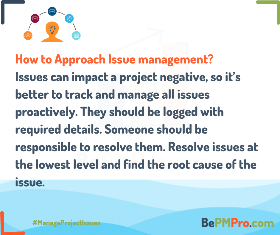 Project Issues Management | 6 Easy Steps to Manage Issues –