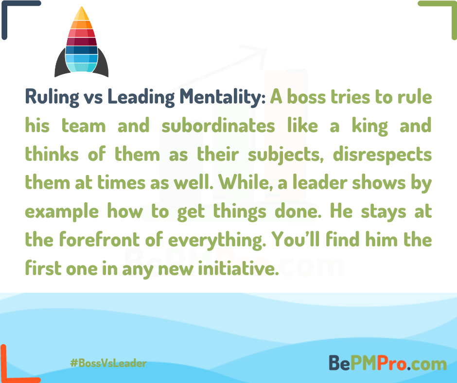 boss vs leader