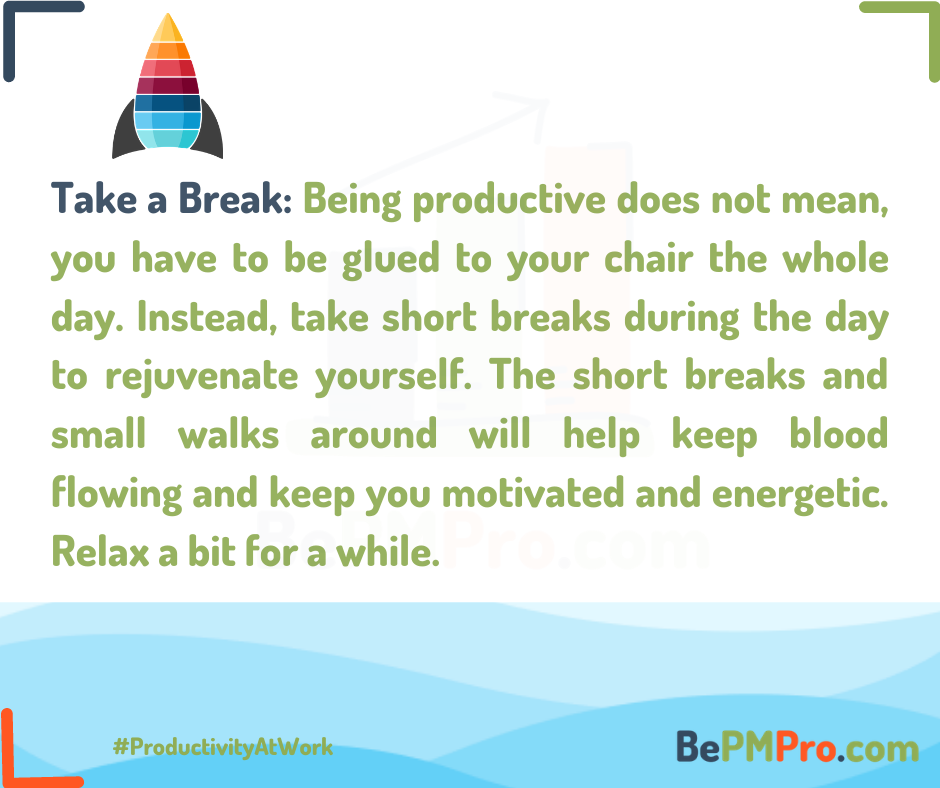 How to Achieve Productivity at Work? 7 Amazing Tips –