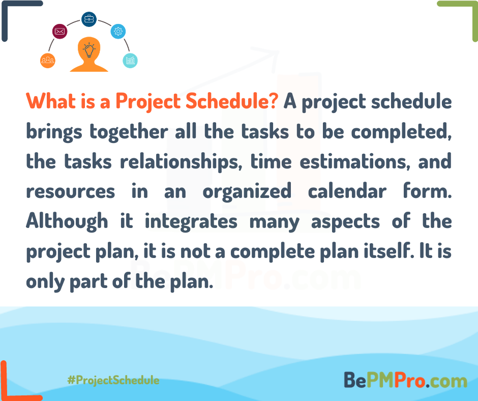 Managing a Project Schedule