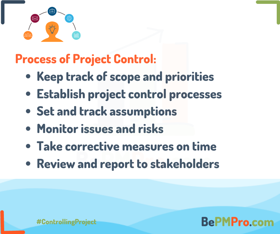 Controlling a Project | 6 Steps of Proper Project Control –