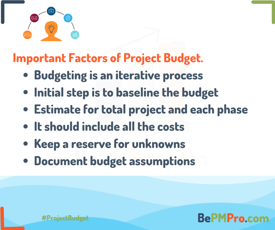 Basics of Project Budget | Top 5 Key Factors Explained –
