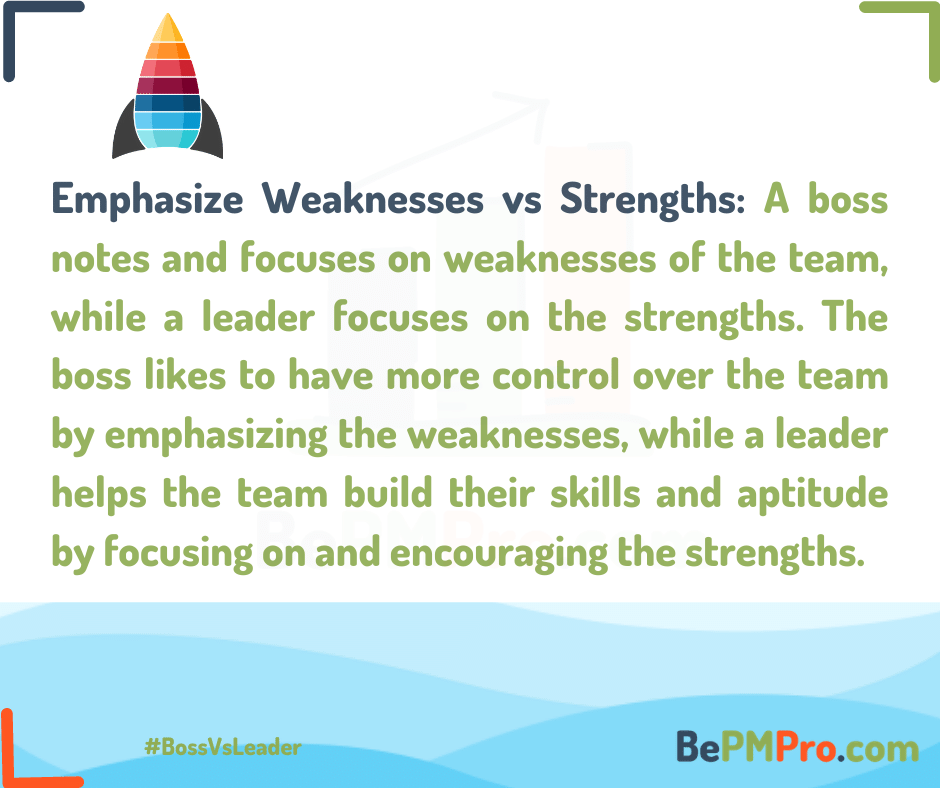 Boss vs Leader | Top 7 Interesting Differences –