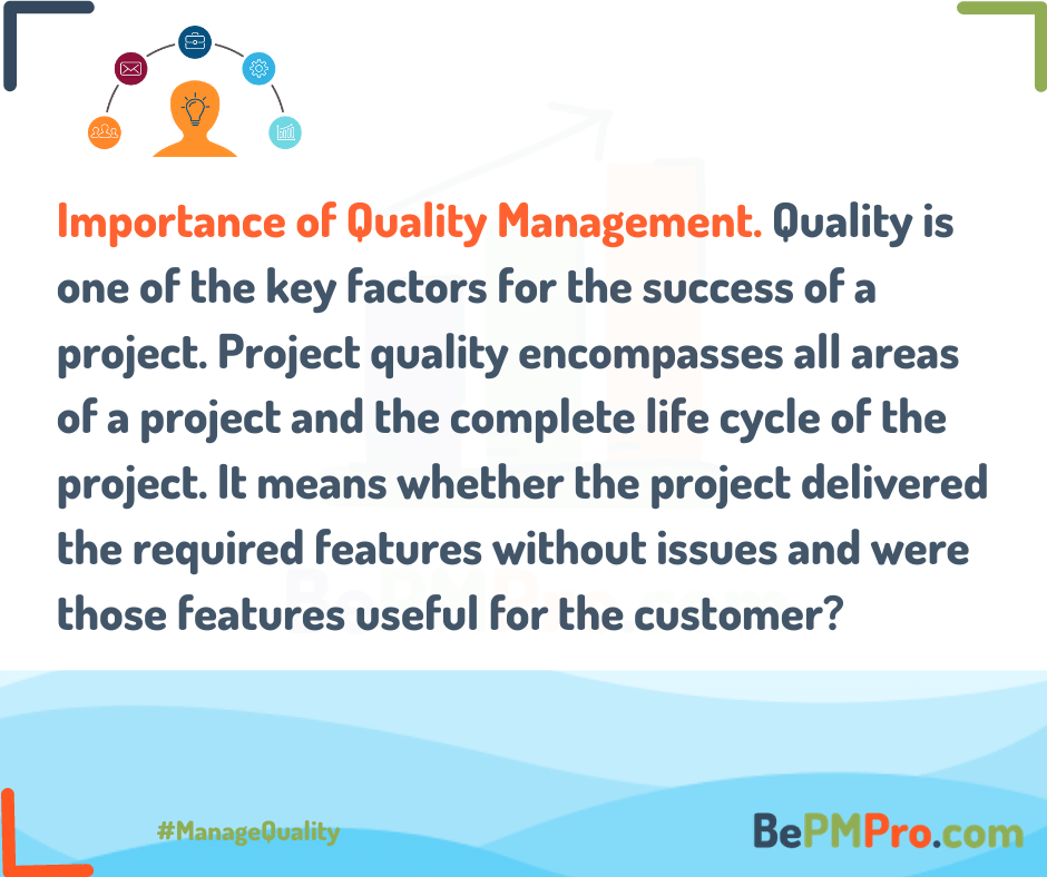 Project Quality Management | 6 Powerful Tips –