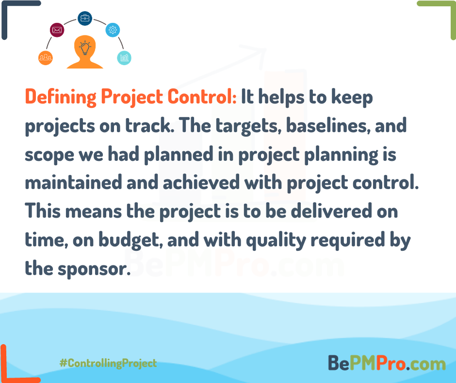 controlling a project