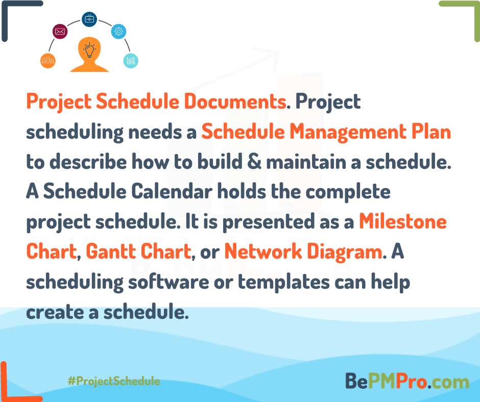 Managing a Project Schedule | Easy Way in 4 Minutes –