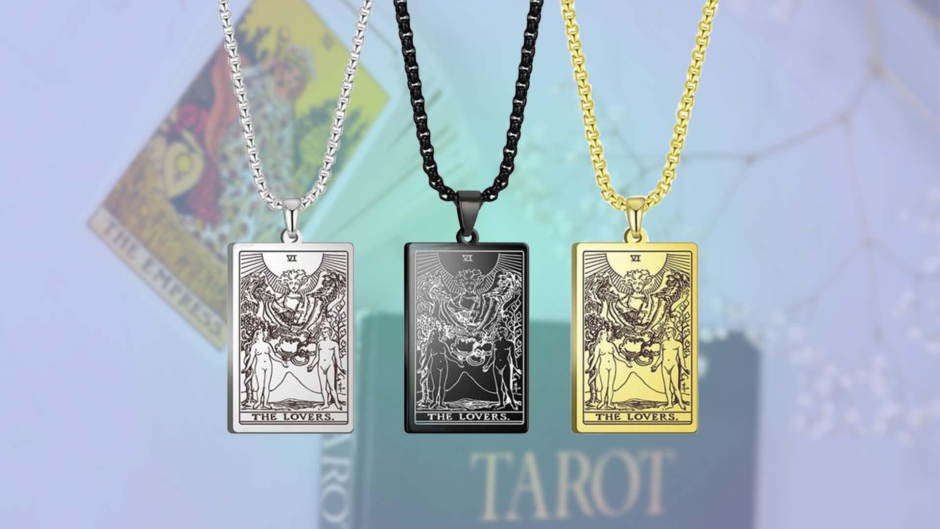 Tarot Card Pendants | Sun in Aries | Spring Equinox Tarot Spread | Apollo Tarot