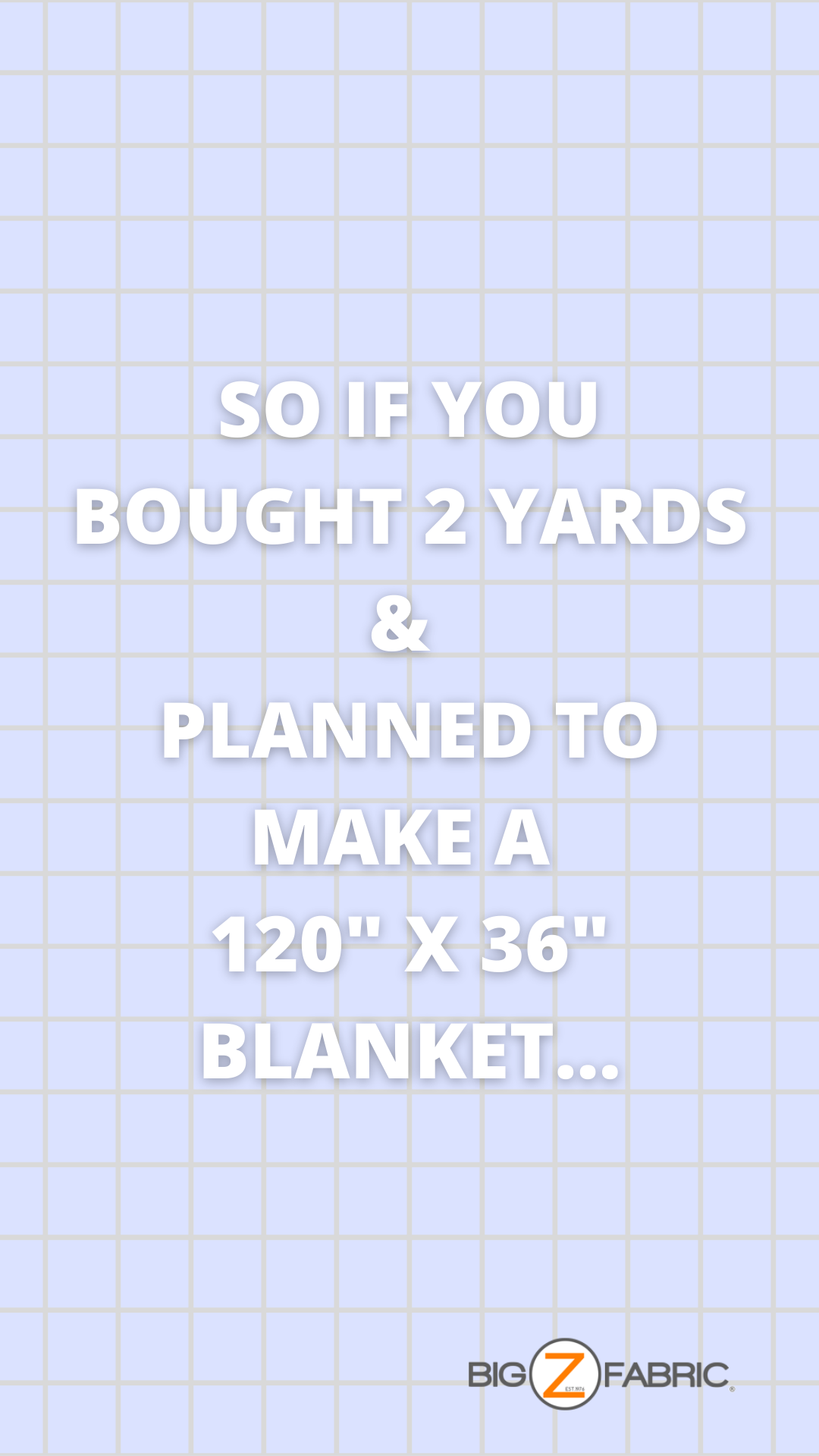 planning you fabric project losing width assumed