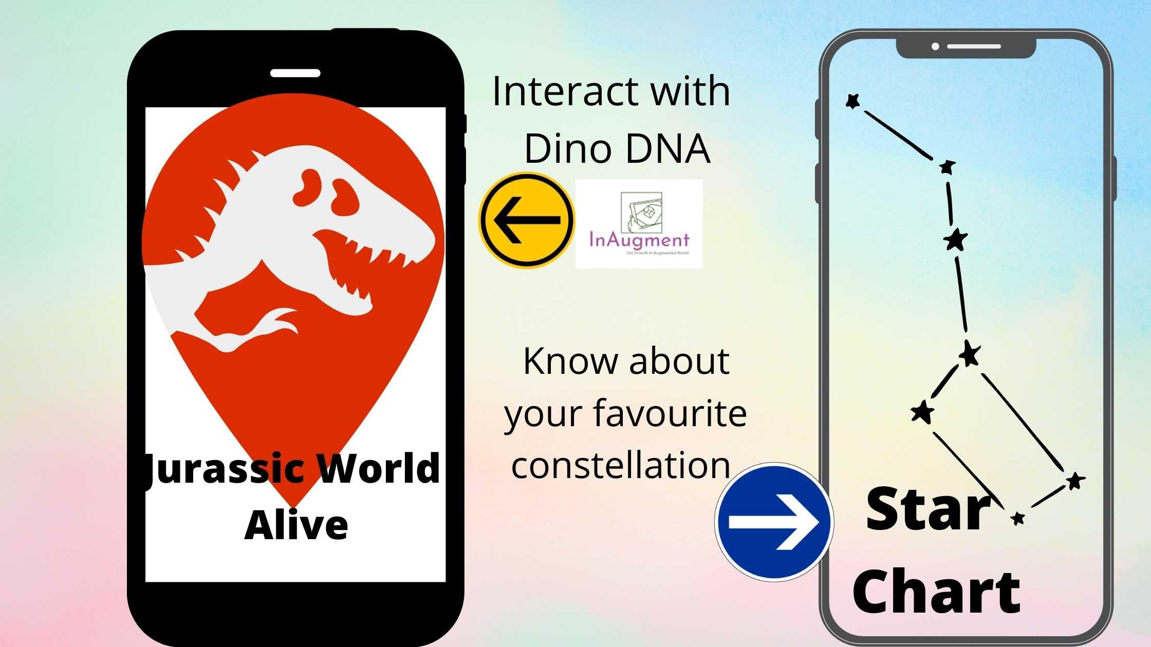 Jurassic World Alive Best AR apps