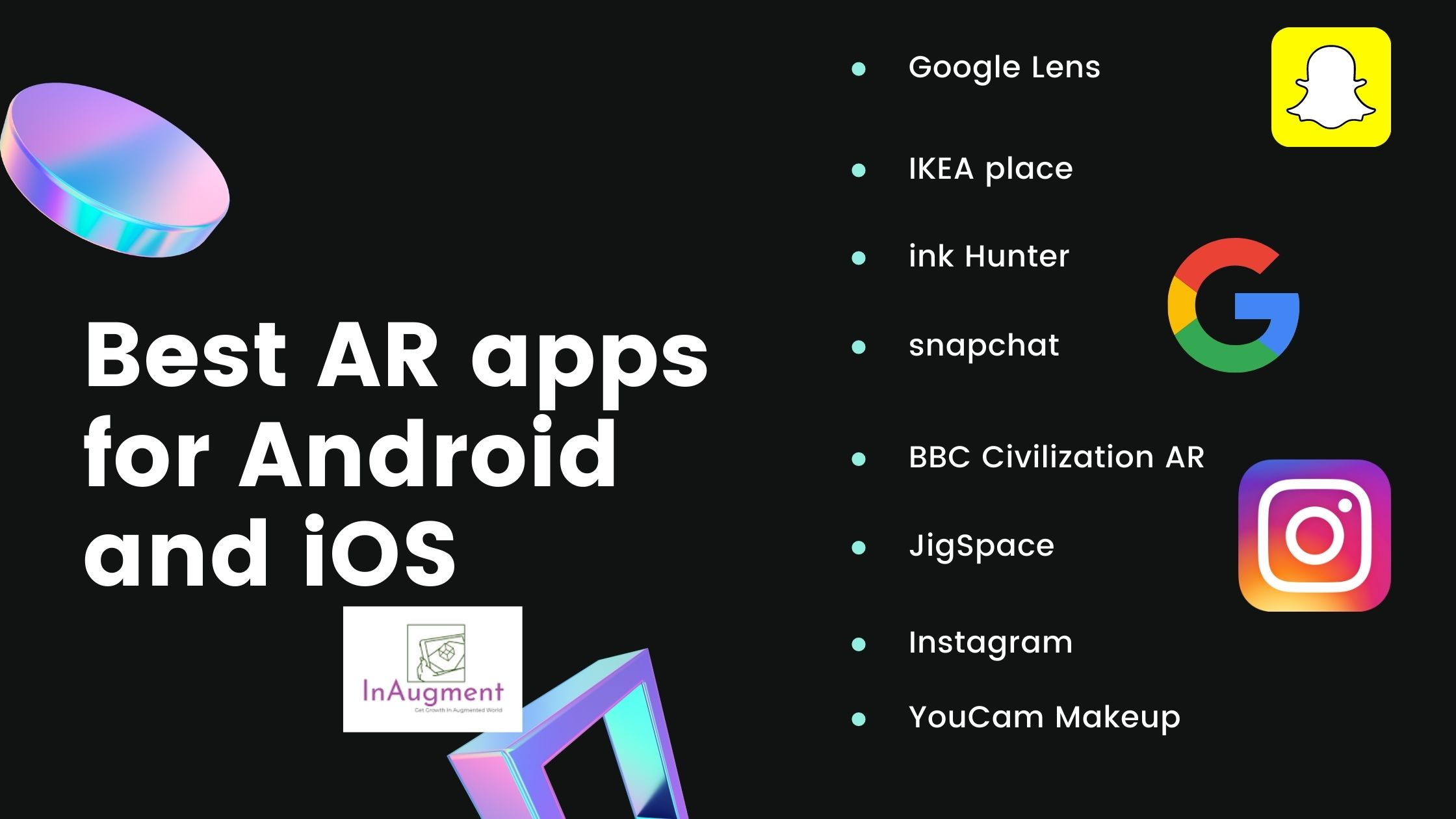 Best AR apps
