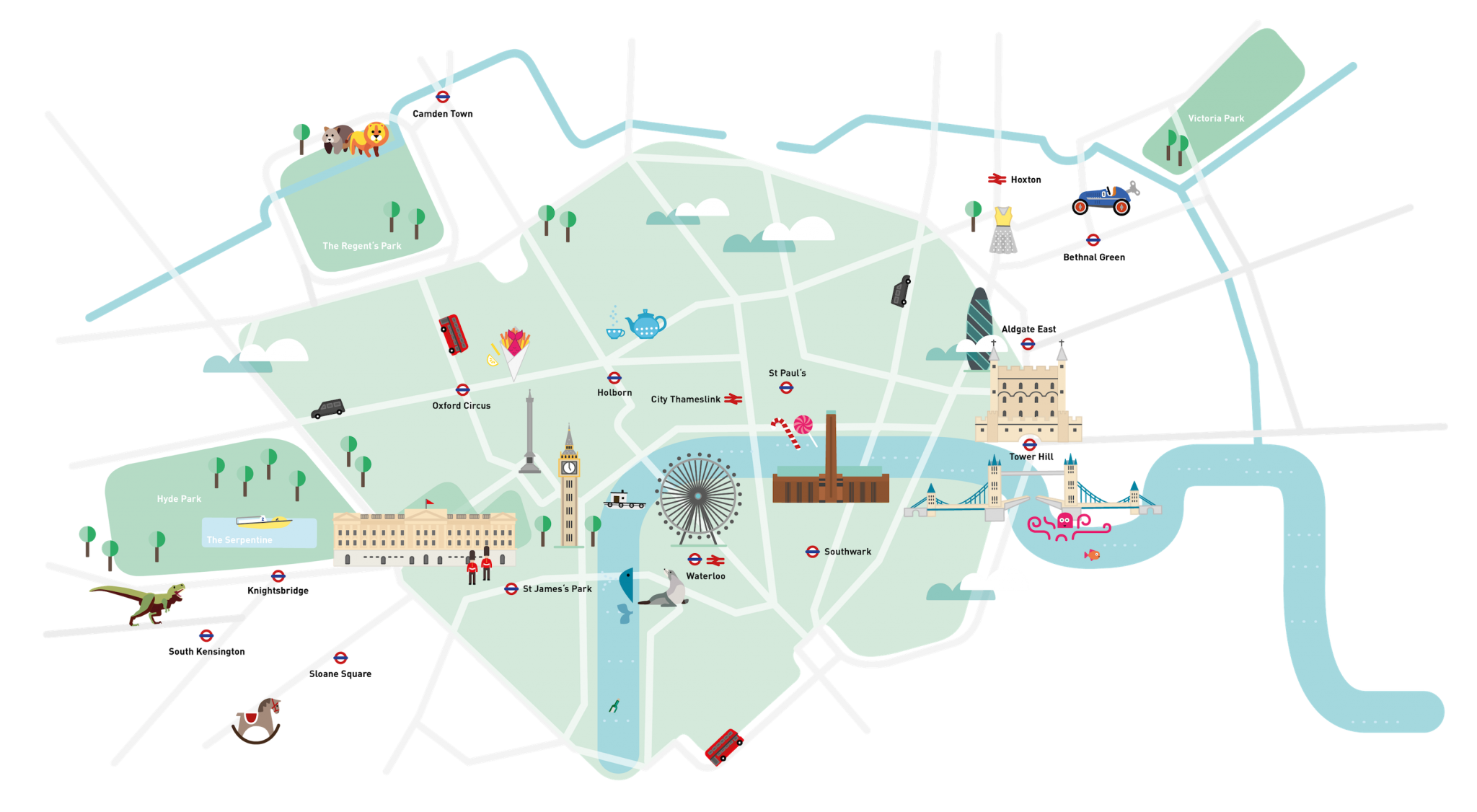 London Kind Map