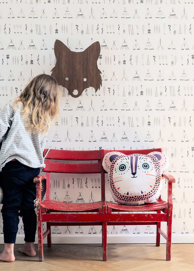 Ferm Living Tapete fures Kinderzimmer