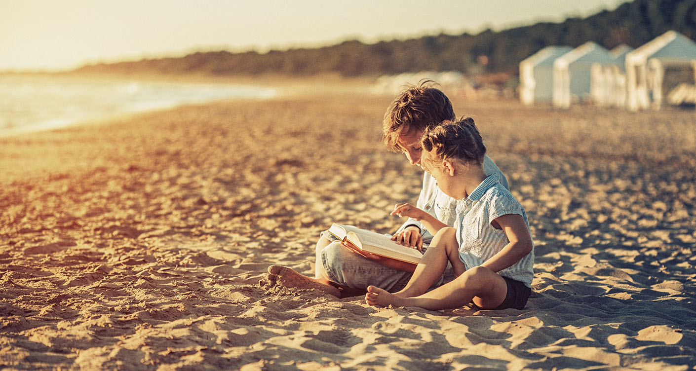 15 Kinderbücher für den Urlaub am Meer