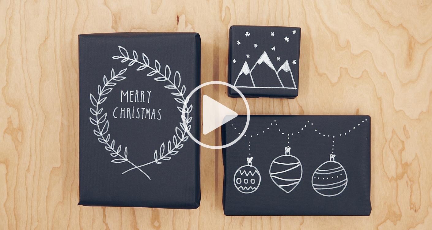 Geschenke verpacken: 3 DIY Ideen für Weihnachten