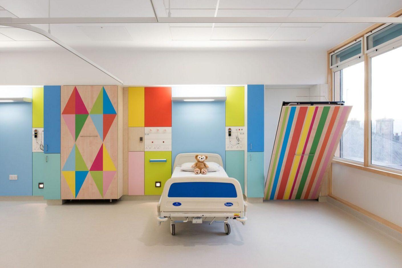 Morag Myerscough Kinderkrankenhaus Sheffield
