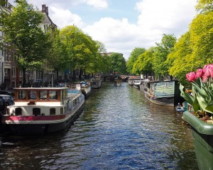 Amsterdam mit Kind